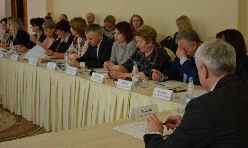 Заседание областного совета по делам инвалидов