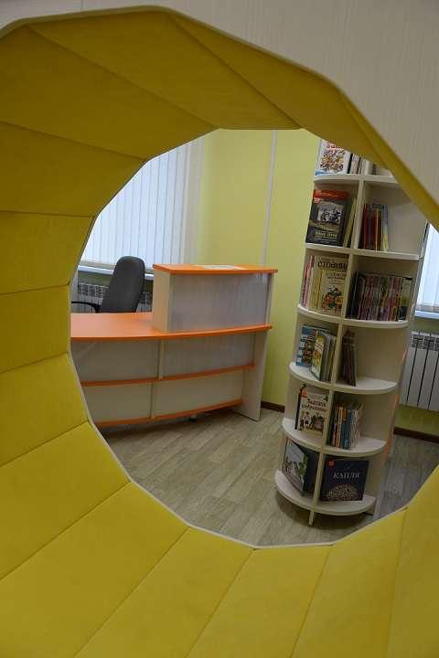 Открытие модельной библиотеки в пос. Палатка