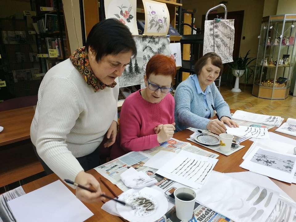 Мастер-класс традиционной китайской живописи
