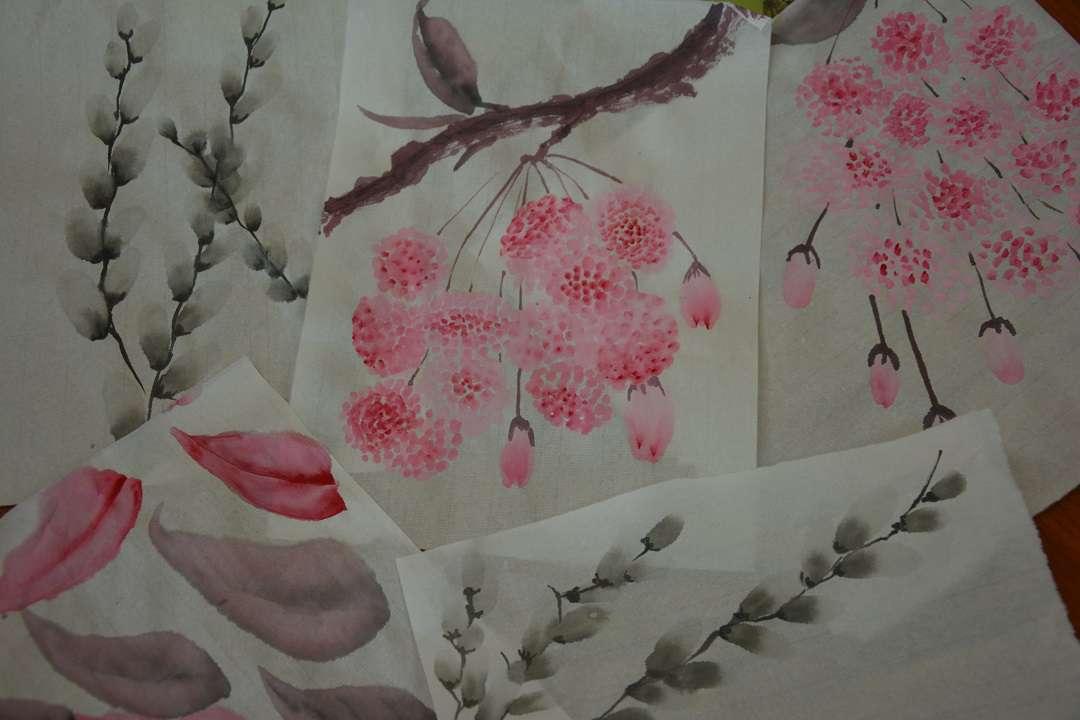 Цветочный календарь Японии