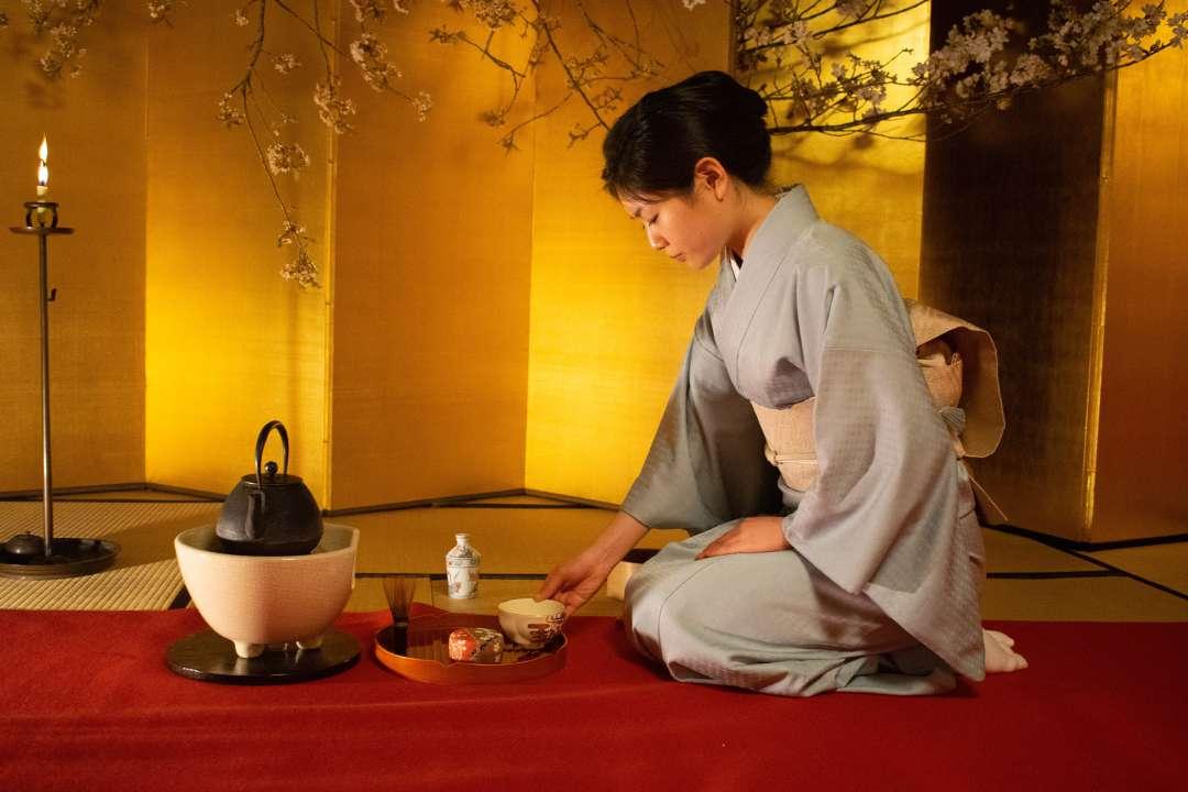 Секреты японского чаепития в клубе «Россия и мир»