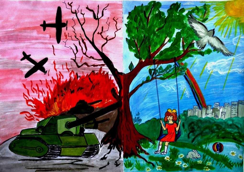 Прими участие в конкурсе рисунков «Этот День Победы»