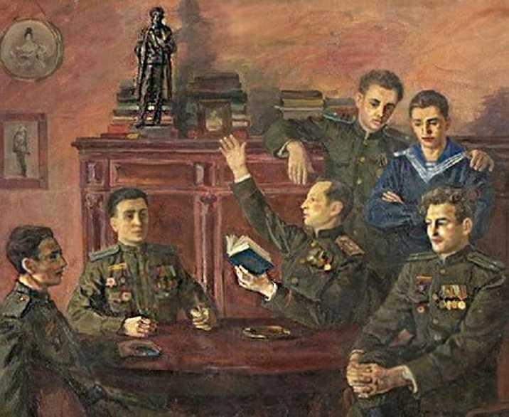 Пушкин на фронтах Великой Отечественной