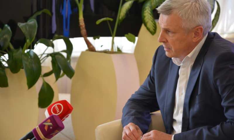 Пресс-конференция губернатора Магаданской области с региональными СМИ