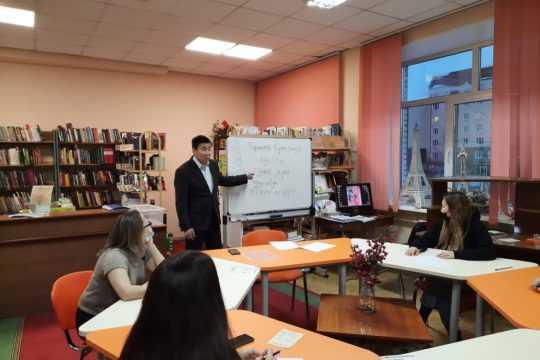 Участие членов клуба эвенского языка в ежегодной акции