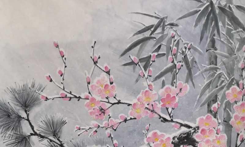 Мастер-класс по восточной живописи