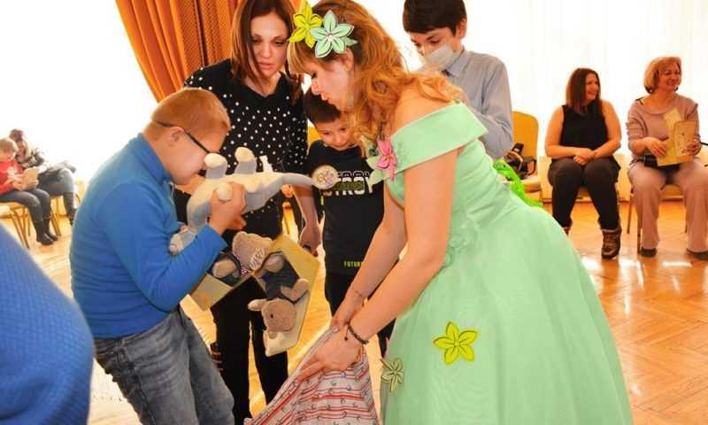«Сова Мудрова» собрала особых детей на праздник весны