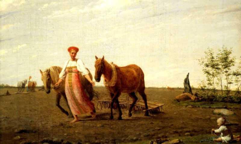 Домашние помощники древних славян