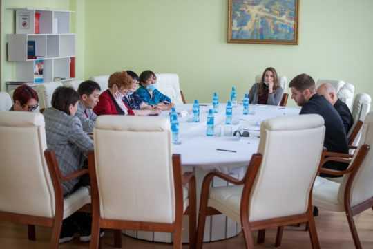 Рабочая встреча советника руководителя ФАДН России С. Н. Тимошкова с представителями КМНС