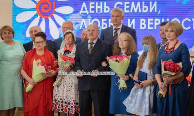 Губернатор поздравил колымчан с Днем семьи, любви и верности