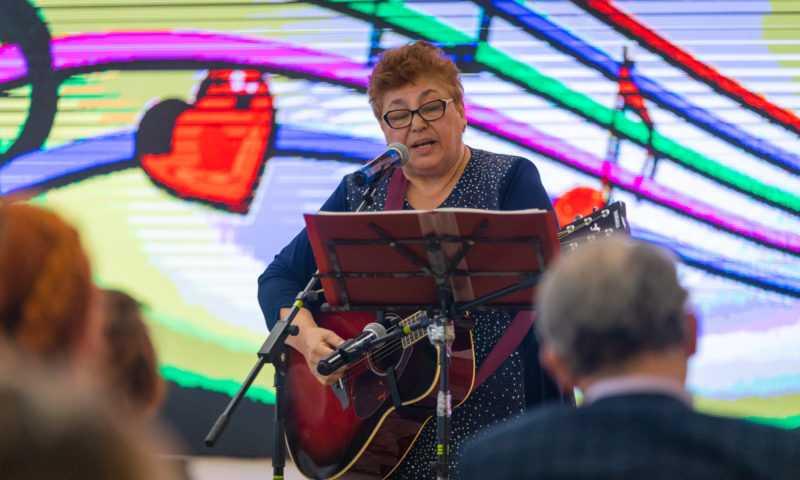 Встреча с исполнителем авторской песни Татьяной Симоновой