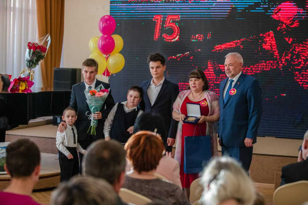 15-летие Магаданской областной общественной организации многодетных родителей